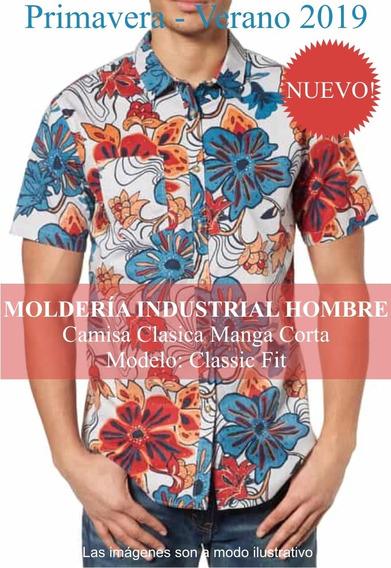 Molderia Industrial Para La Moda / Camisa Clásica Hombre