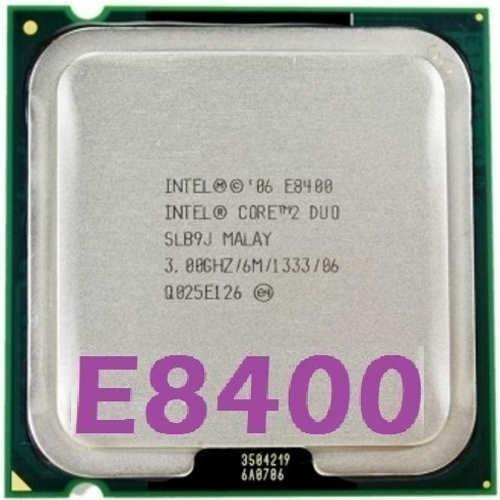 Imagem 1 de 9 de Processador Intel Core 2 Duo E8400 3.0ghz Fsb 1333 Lga 775