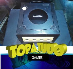 Nintendo Game Cube Conservado Com Garantia Loja Bh