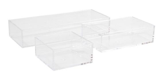 Indispensable Organizador Cajón Acrílico Transparente