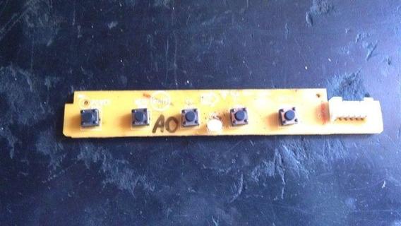 Placa Teclado Funções 715g2835-2 Philips Tft15w60psa