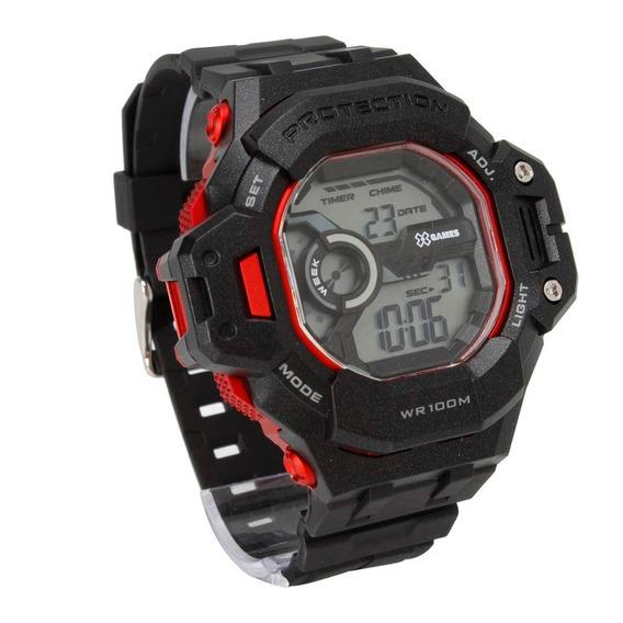 Relógio X Games Cronógrafo - Lindo Esportivo - Original