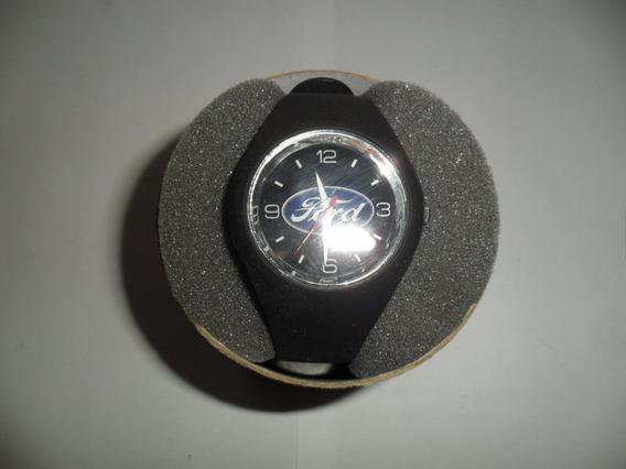 Relógio Com Tema Automotivo, Ford