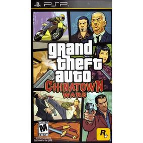 Grand Theft Auto: Chinatown Wars Psp Mídia Física