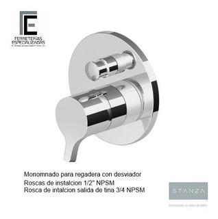 Stanza Llave Mezcladora Monomando P/regadera Y Tina C/desv