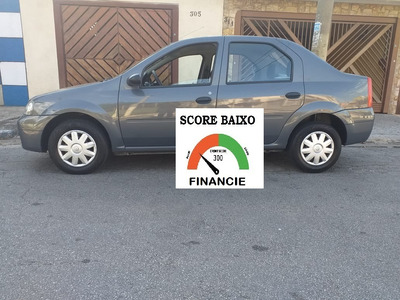 Financiamento Com Score Baixo Renault Logan Flex
