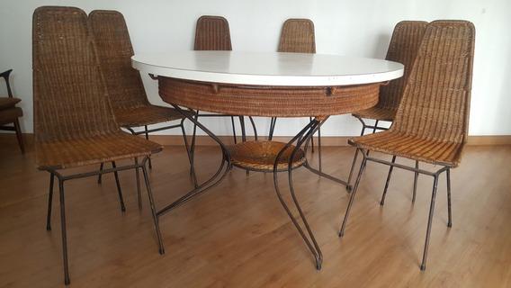 Carlo Hauner E Martin Eisler Sala De Jantar Conjunto Mesa