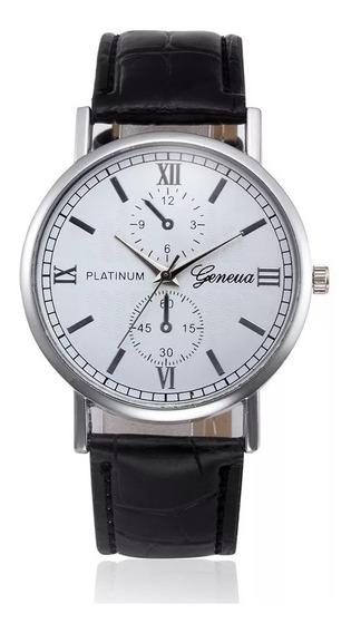 Relógio Geneva Platinum Masculino