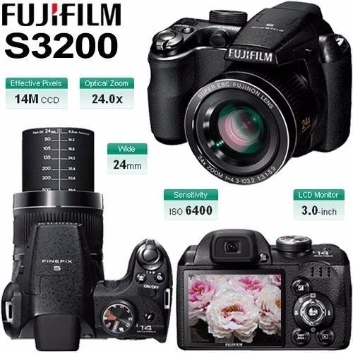 Fujifilm Finepix S3200 + Cartão 4 Gb