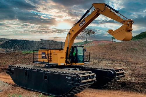 Imagem 1 de 11 de Escavadeira Anfíbia 313   Aizm Machines