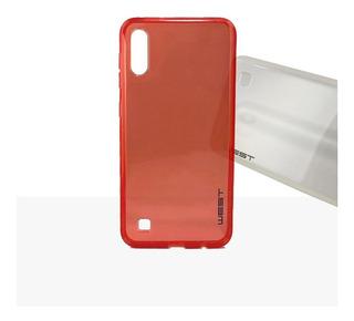 Funda Protector Tpu Mirror Samsung A10 A20 A30 A50 + Vidrio
