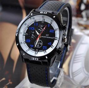 Relógio Masculino Analógico Pulseira Silicone - Super Barato