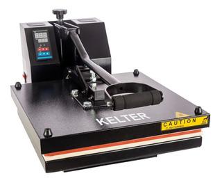 Prensa Plana 38x38cm Máquina Estampar Camisetas Kelter