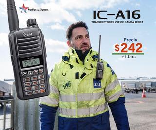 A16 Radio De Aviación -icom
