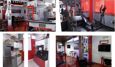 Moderno Departamento Amoblado Y Equipado Con Gym Bar