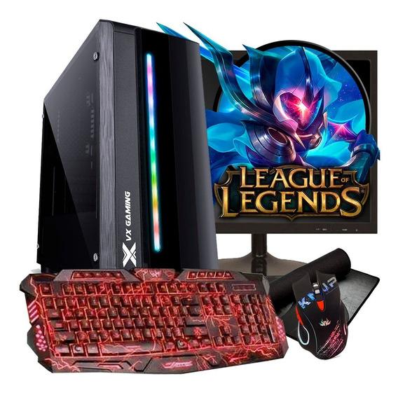 Pc Gamer Completo Athlon 200ge / 8gb / Hd 1tb / Radeon
