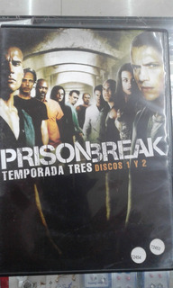 Prison Break - 3º Temporada Completa - Dvd Originales