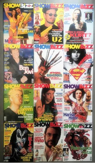 Revista Bizz 1996 (ano Completo 12 Edições) Perfeito Estado