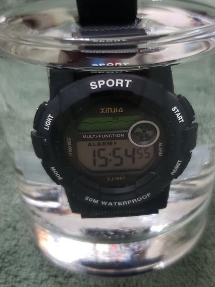 Relogio Digital Sport Prova D Agua Estilo G-shock Xinjia