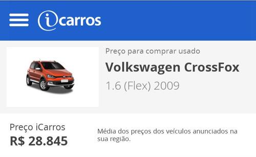 Imagem 1 de 12 de Volkswagen Crossfox 2009 1.6 Vht Total Flex 5p