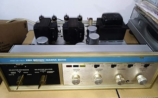 Amplicador Ken Brown Magna 2000 Valvular