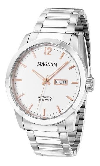 Relógio Magnum Automático Masculino Ma33835q