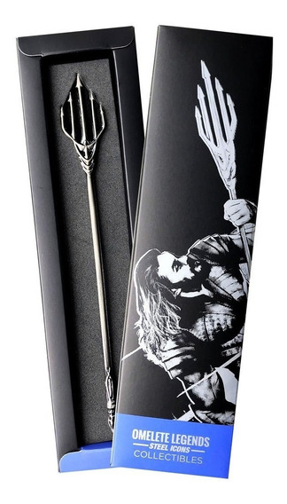 Tridente Aquaman Steel Legends Omelete Box