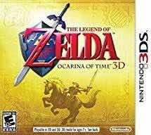 The Legend Of Zelda Ocarina Of Time 3d Nintendo 3ds Limitado