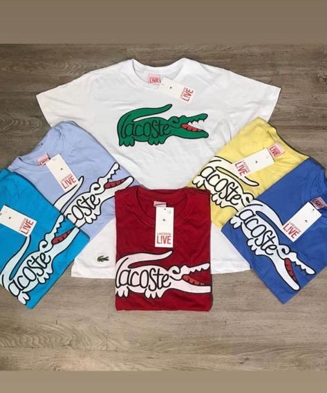 Kit Com 2 Camisetas De Marca Variadas