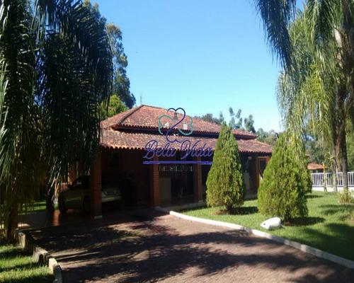 Chácara À Venda No Condomínio Recanto Das Flores Em Indaiatuba-sp, Bela Vida Imobiliária - Ch00228 - 68729538