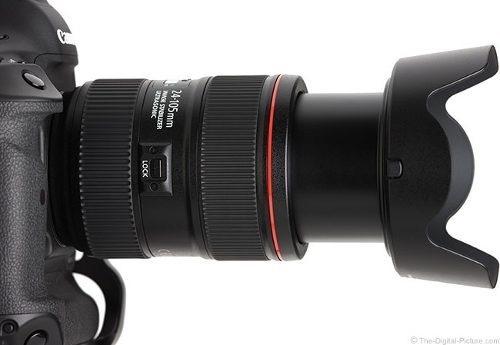 Lente Canon Ef 24-105mm F4l Is Usm