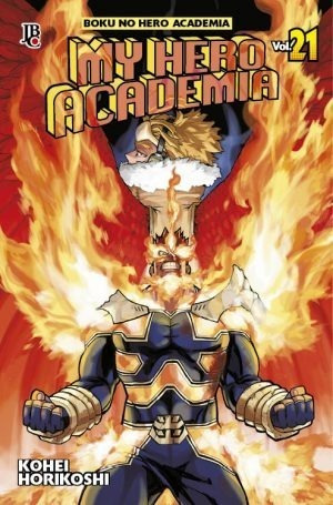Mangás My Hero Academia N° 21 E 22 ( Boku No Hero Academia )