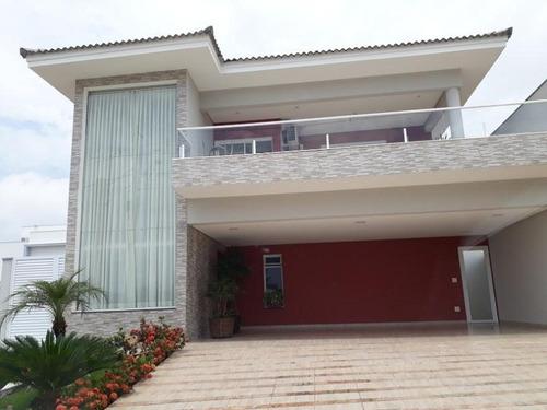 Sobrado Com 3 Dormitórios À Venda, 318 M² Por R$ 1.400.000 - Condomínio Chácara Ondina - Sorocaba/sp - So0123 - 67640814
