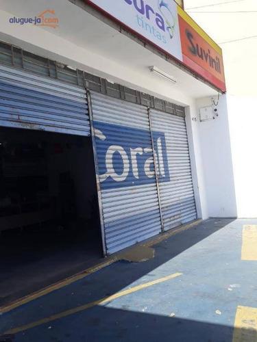 Imagem 1 de 8 de Ponto Comercial Para Locação, Jardim São Dimas, São José Dos Campos. - Pt0163