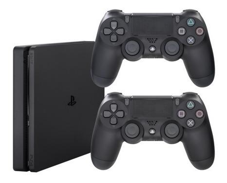 Playstation 4slim + 2 Controles/ 1 Tb/ Mega Promo