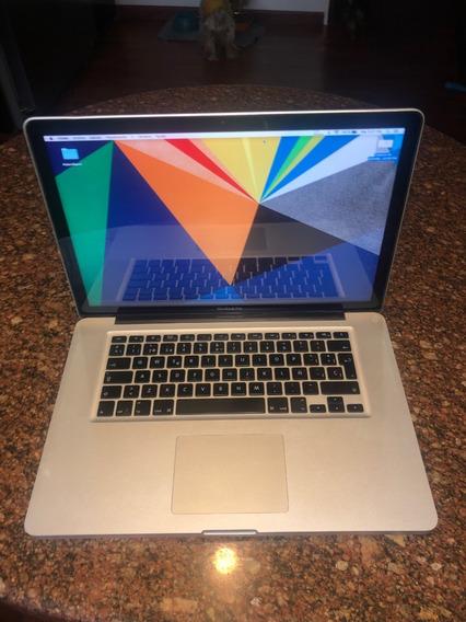 Macbook Pro 15 2009 2.53 Ghz 480gb Perfecto Estado