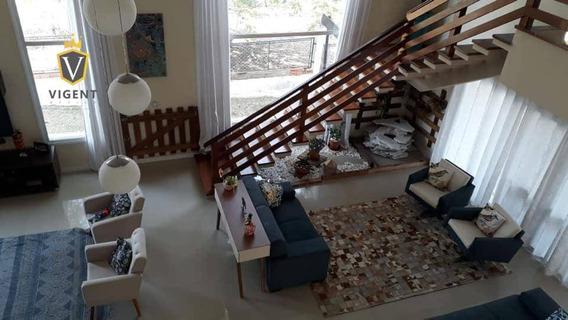 Maravilhosa Casa À Venda No Vivendas Do Japi Jundiaí - 467 M², 4 Suítes, Piscina, Espaço Gourmet, Pomar, 7 Vagas, Vista P/ Serra Do Japi! - Ca1345