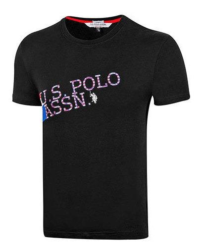 Playera Hombre Pk 92491 Us Polo Assn Negro