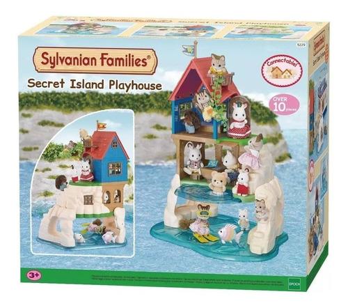 Sylvanian Families 5229 - Casa En La Isla Secreta Intek