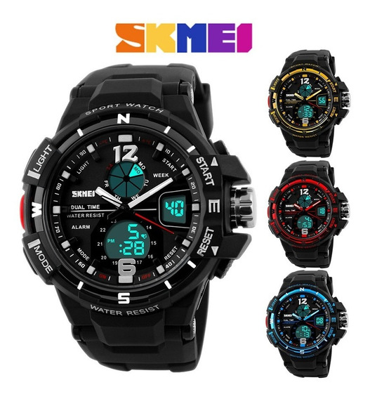 Relógio Masculino Skmei 1148 Digital Analogico Prova D