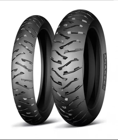 Par Pneu Michelin 150/70-17 + 110/80-19 Anakee 3 Bmw 1200 Gs