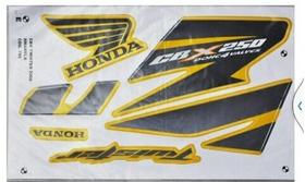Kit Adesivo Twister 2008 Amarelo