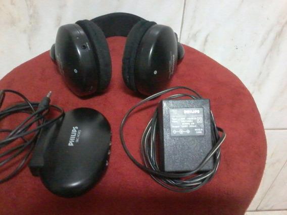 Fone De Ouvido Sem Fio Philips- Nao É Bluetooth - Leia