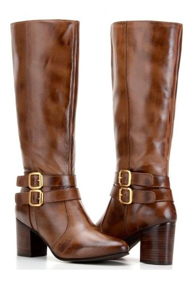 Bota Feminina Texana Couro Montaria Lançamento Capelli Boots