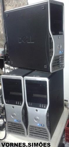 Dell Workstation T3500 Mem 8gb Hd 500, Quadro Nvidia Fx580