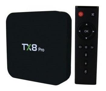 Tv Box Sua Tv Em Smart 4k Tx8 Pro Quadcore 2/16gb Bluetooth