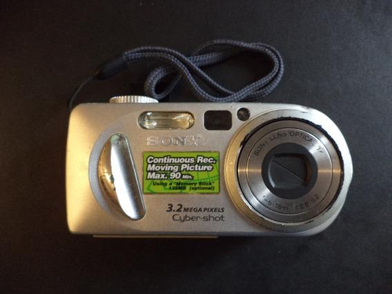 Maquina Fotográfica Sony Cyber-shot Funcionando