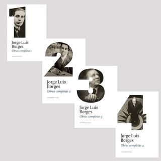 Obras Completas 1 2 3 4 - Jorge Luis Borges