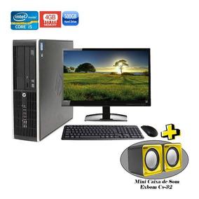 Computador Hp 8200 Sff Core I5-2400 4gb Hd 500gb + Brinde