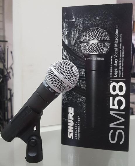 Microfone Shure Sm-58 Lc México (garantia + Nf)